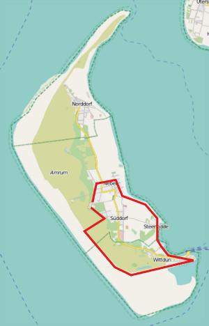 Einmal um die halbe Insel (13,5 km)