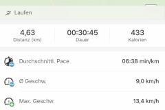 Startnummer 443: Rundkurs 4,5 km