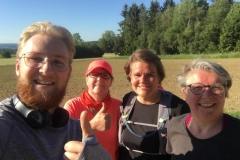 Startnummer 366: Running for Sarah 🐧🍀 Sabine 370 Andrea 481 Maxi 462 Milena 367 Mara-Luise 368 Nadiene 366 Einen schönen Lauf durch den Hunsrück!