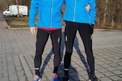Startnummer 323: Mit Ralf bei Dauerregen und 7 Grad im Nymphenburger Schlosspark mit vielen guten Gedanken an Amrum und den Mukolauf