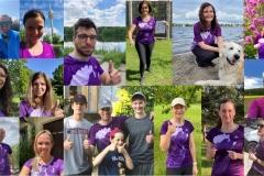 Startnummer 258: Das Laufteam von Vertex Pharmaceuticals