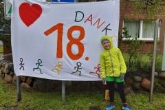 Startnummer 104: Es war uns ein Vergnügen auf der schönsten Insel, auch bei diesem Wetter! Erik und Gabi-läuft.